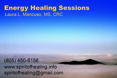 Santa Barbara Energy Healing by Laura L. Mancuso, MS