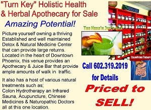 Phoenix Natural Medicine & Detox Center for sale