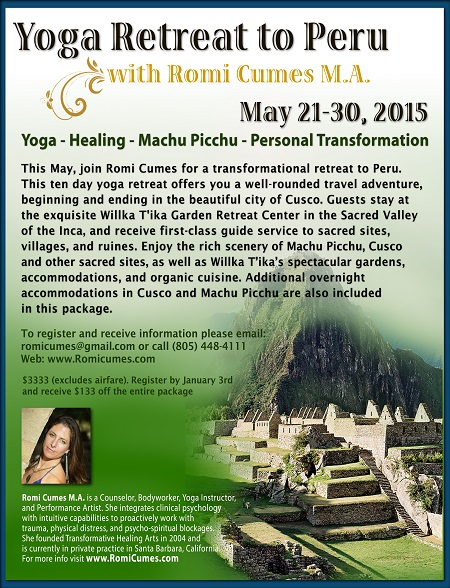 Yoga & Healing Retreat in the Peruvian Andes