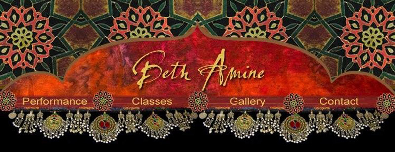 Painting and Belly dance lessons in Santa Barbara, CA with Beth Amine