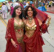 Belly Dancing in Santa Barbara by Beth Amine
