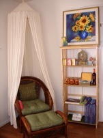 Massage Room at The Health Gallery, Santa Barbara's Holistic Health and Wellness Center