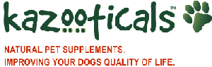 Pet Wellness Supplements; Animal joint & ligament Natural health;  Holistic Pet Arthritis Formula - Kazooticals