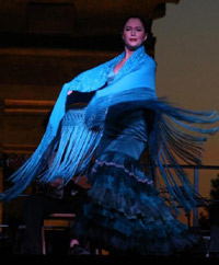 Professional Flamenco Dancer & Flamenco Dance Teacher in Santa Barbara - Laura Dubroca