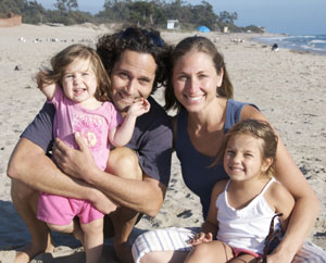 Santa Barbara Chiropractor Dr. Jeff Rynders and Family